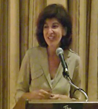 Julie Salamon speaking at NY Society Library